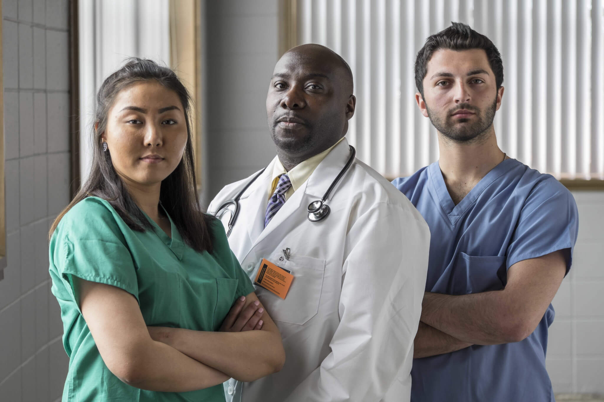 Doctors dealing with patient bias and prejudice